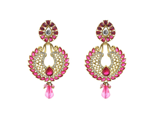 New Look Yellow, Pink & White Artificial Jewellery Earrings For Women's