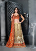Women's Beige Color Pretty Lehenga Choli With Stones Work In Traditional Look