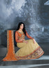 Women's Dark Cream Color Pretty A Line Lehenga Choli With Resham Work Dupatta