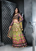 Women's Pretty A Line Lehenga Style in Yellow & Beige Color With Stones Work Dupatta