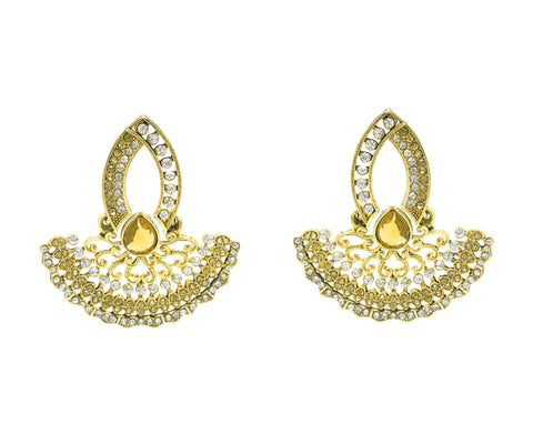 Perfect look Gold Color Earrings