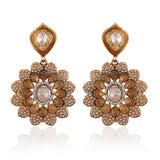 Heavy & Designer Collection In Artificial Jewellery of Earrings In White