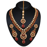 Amazing Red & Off White Color Fashion Jewellery Necklaces