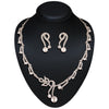 Beautiful Fashion Jewellery Necklaces For Women's In Silver Color
