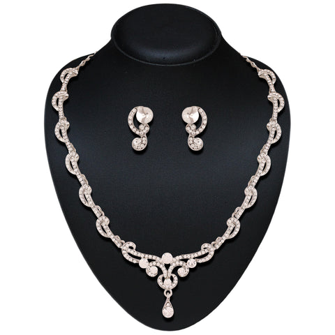 Women's Art Precious Jewellery Necklaces In Silver Color