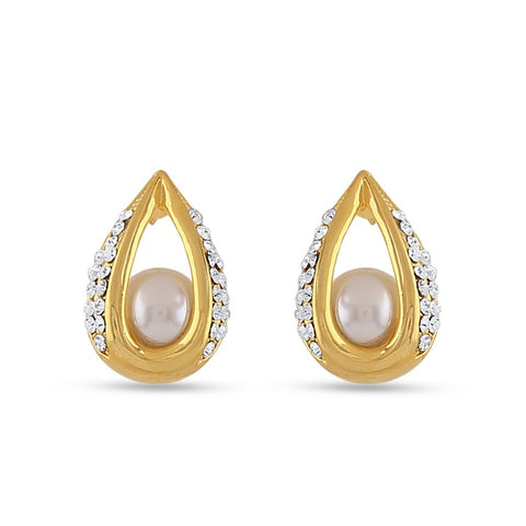 Perfect look White Precious Jewellery Earrings