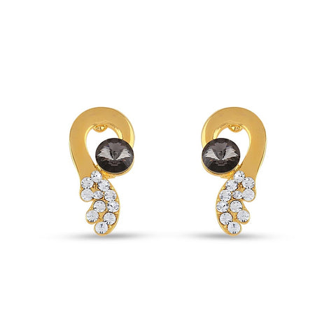Perfect look Black & White Precious Jewellery Earrings