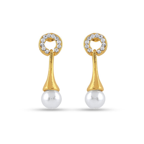 Fabulous & luxurious Collection In Precious Jewellery of Earrings In White
