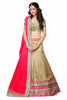 Women's Chiffon Fabric & Cream Color Pretty Mermaid Cut Lehenga Style