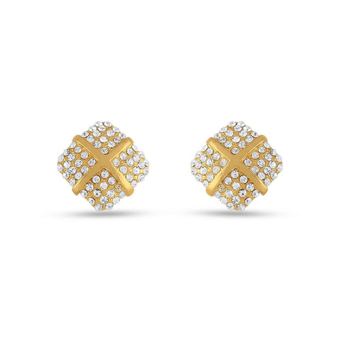 New Look Gold Precious Jewellery Earrings For Women's