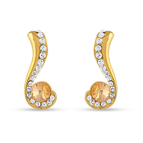 luxurious & Fancy Collection In Precious Jewellery of Earrings In White
