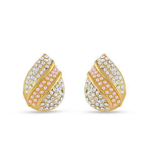 Fancy & Fantastic Collection In Precious Jewellery of Earrings In White & Gold