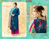 Cotton & Satin Angrakha Style Incredible Unstitched Salwar Kameez