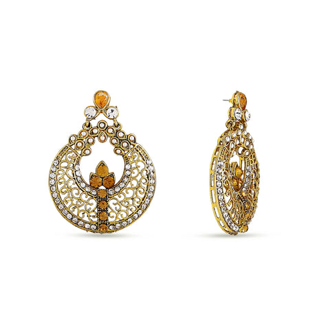Perfect look Silver & Gold Artificial Jewellery Earrings