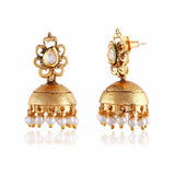 New Look Red, Beige & Gold Artificial Jewellery Earrings For Women's