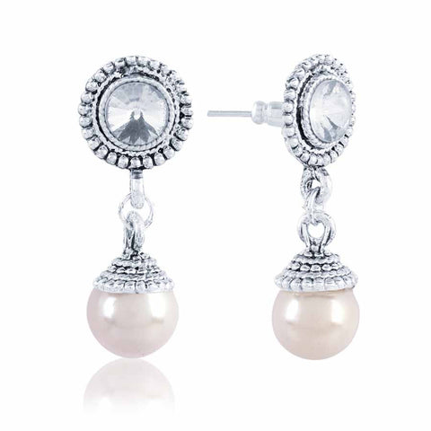 Heavy & Fantastic Collection In Precious Jewellery of Earrings In Gray & Silver