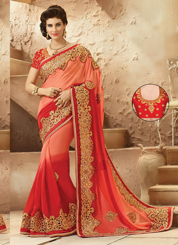 Sari Saree in Viscose Satin Fabric