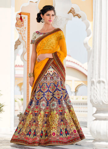 Women's Pretty A Line Lehenga Style in Multiple Color