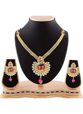 Amazing Gold Color Precious Jewellery Necklaces