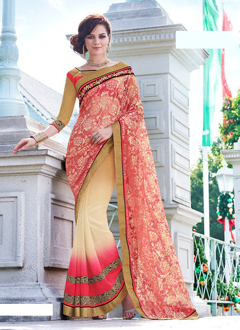 Net Saree For Womens