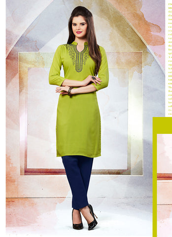 Cotton Green Incredible Readymade Kurti
