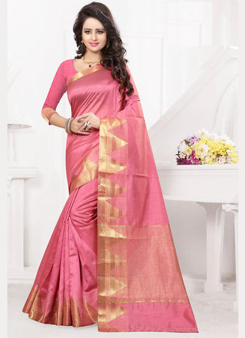 Tussar Silk Saree For Womens