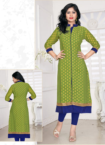 Incredible Achkan Kurti Style with Lace Work