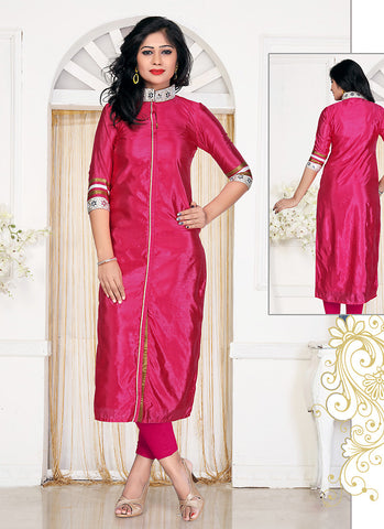 Incredible Achkan Kurti Style in Silk