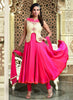 Embroidery & Lace Deep Pink Color Lovely Salwar Kameez