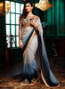 Women's Beautiful Looking Satin Pink Ethnic Saree