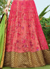 Women's Pink Pretty Lehenga Choli With Embroidery Work In Traditional Look