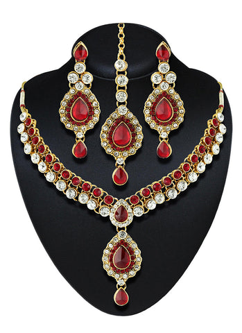 Women's Creative Necklaces in Red Color