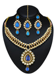New Look Blue & Gold Color Necklaces