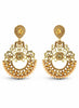 luxurious & Designer Collection In Artificial Jewellery of Earrings In Gold