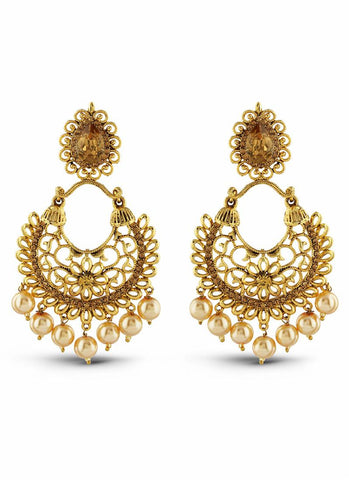 Designer & luxurious Collection In Artificial Jewellery of Earrings In Gold