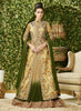 Achkan Style Beige with Embroidery Work Incredible Unstitched Salwar Kameez