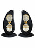 luxurious & Fantastic Collection In Artificial Jewellery of Earrings In White & Gold