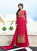 Straight Cut Style Pink with Embroidery Work Incredible Unstitched Salwar Kameez