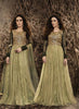 Raw Silk & Net Fabric with Embroidery Work Incredible Unstitched Salwar Kameez