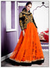 Short Kameez Style Black with Embroidery Work Incredible Unstitched Salwar Kameez