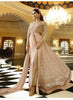 Achkan Style Beige with Lace Work Astounding Unstitched Salwar Kameez