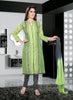 Shantoon Fabric & Slate Grey Color Attractive Churidar Style In Achkan Look