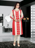 Shantoon Fabric & Off White Color Attractive Churidar Style In Achkan Look