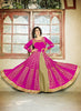Achkan Style Pink with Sequins Work Astounding Unstitched Salwar Kameez