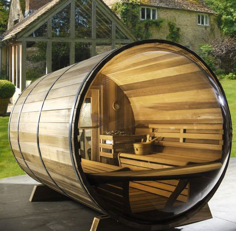 outdoor saunas cedar emporium. Black Bedroom Furniture Sets. Home Design Ideas