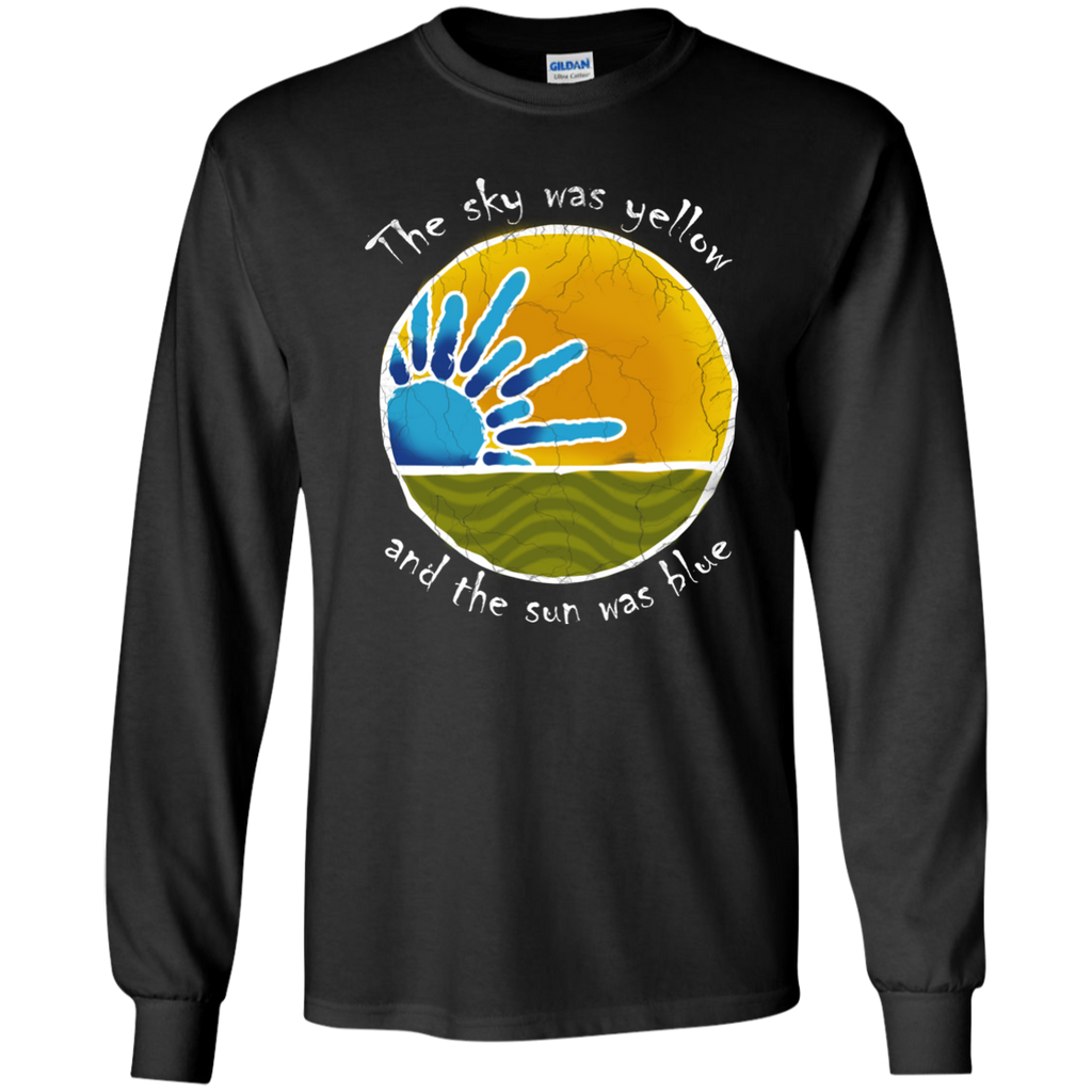Sky Was Yellow Long Sleeve Ultra Cotton T-Shirt