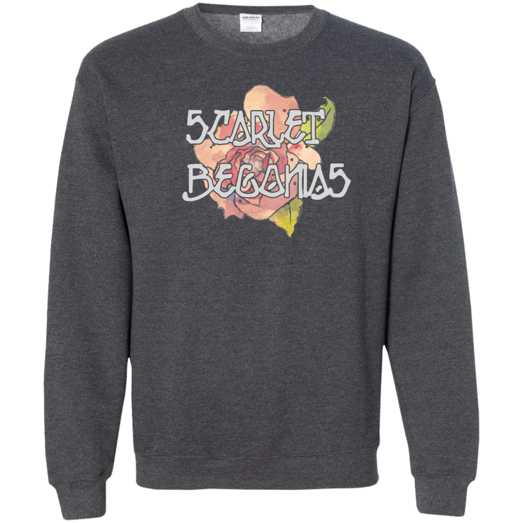 Overstock of Scarlet Flower Pullover Sweatshirt  8 oz.