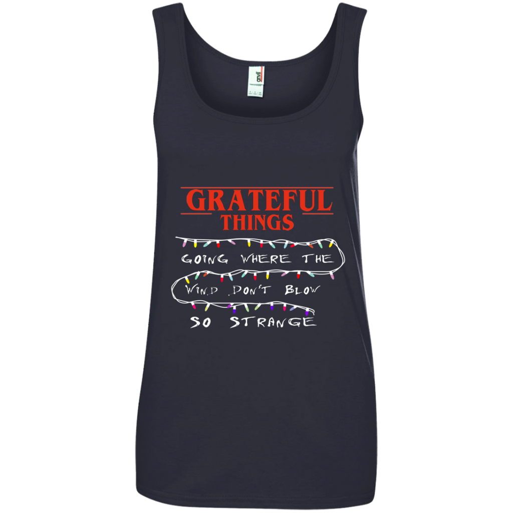 Grateful Things 100% Ringspun Cotton Tank Top