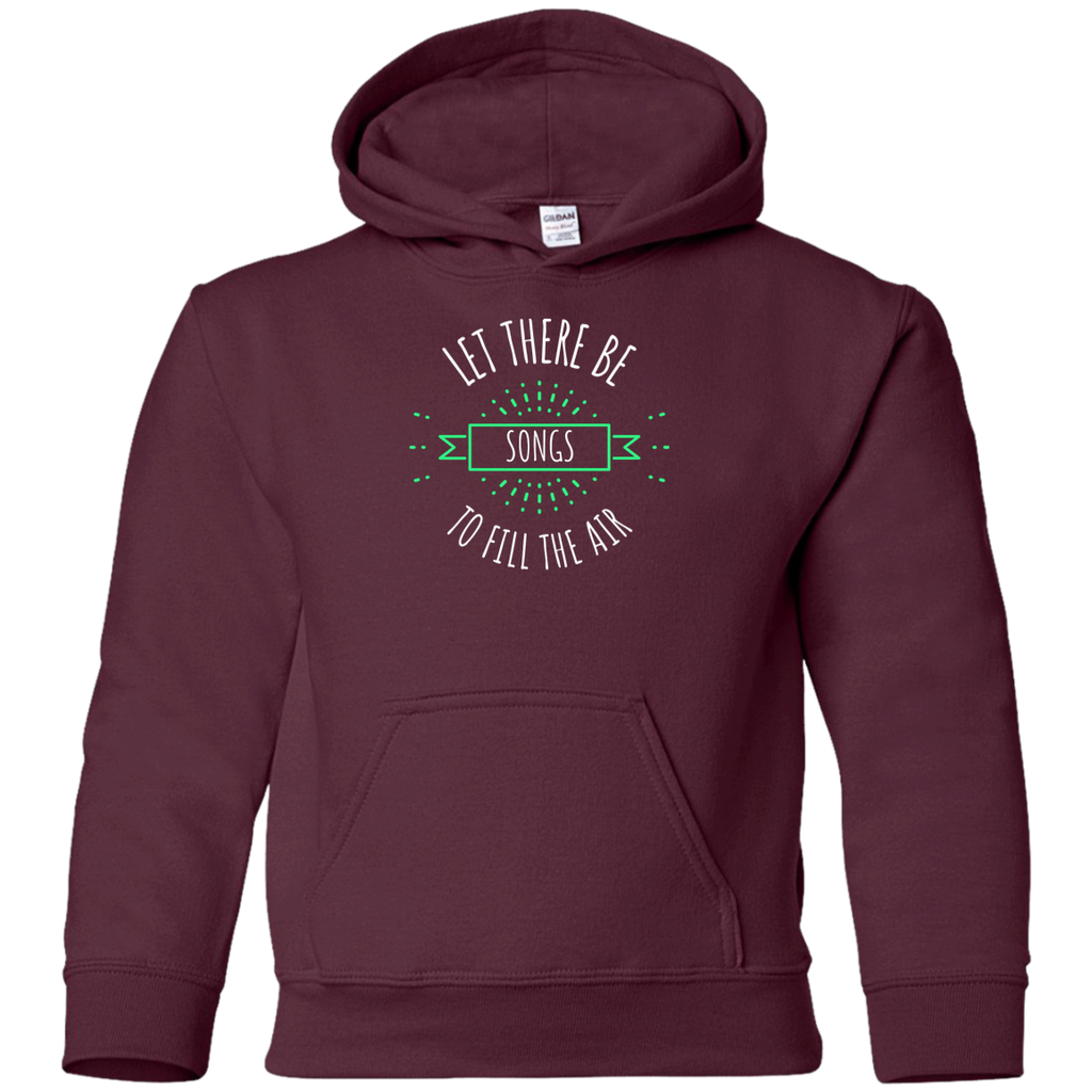 Let There Be Songs Youth Pullover Hoodie