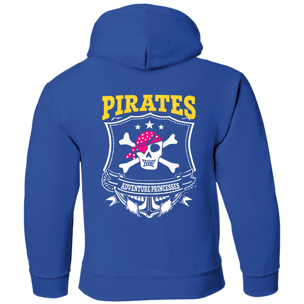 Girls Pirates Pullover Hoodie